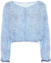 Poupette St Barth Bety floral-printed blouse