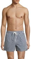 North Sails Volley Striped Swim Trunks