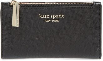 Kate Spade Small Spencer Saffiano Leather Bifold Wallet