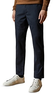 Ted Baker Sleepe Cotton-Blend Slim Fit Chino Pants