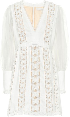 Zimmermann Super Eight silk minidress
