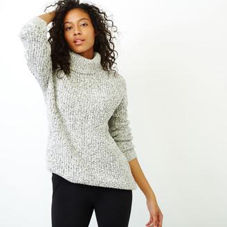 Roots Snowy Fox Turtleneck Sweater