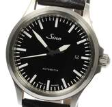 Sinn 556 Stainless Steel / Leather Automatic 38mm Mens Watch