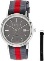 Esprit ES-ALAN SILVER ES108361004 - Men's Watch, Watch Band Leather Multicolor