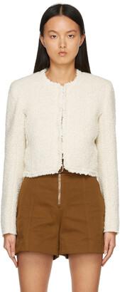 Isabel Marant Beige Wool Tweed Gradiano Jacket