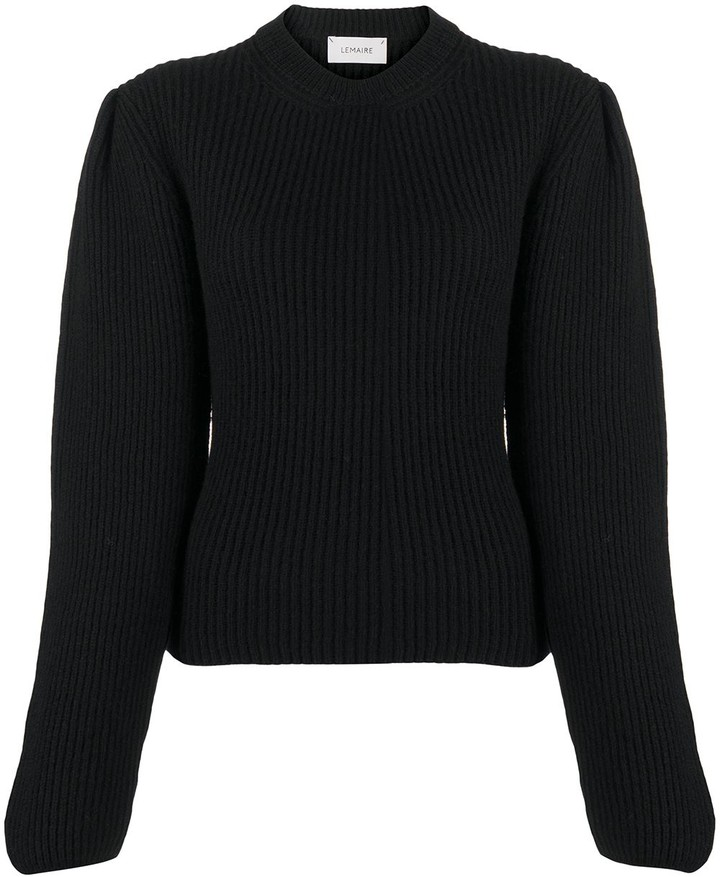 Lemaire Knitted Long-Sleeve Jumper