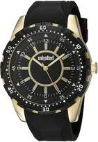 UNLISTED WATCHES Men's 'Sport' Quartz Metal and Silicone Casual, Color: (Model: 10030904)