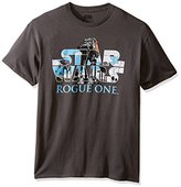Star Wars Men's Rogue One At-Act Logo Graphic T-Shirt
