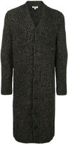 Kenzo long speckled cardigan