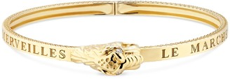 Gucci Yellow gold bracelet with tiger head