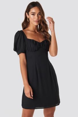 NA-KD Bust Puff Sleeve Mini Dress
