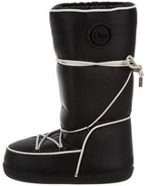 Christian Dior Log-Accented Moon Boots
