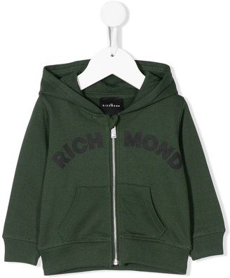 John Richmond Junior Ria zipped hoodie