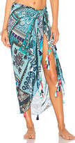 Rococo Sand X REVOLVE Sarong in Turquoise.
