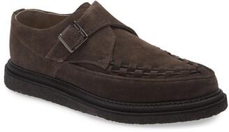 AllSaints Graffin Monk Strap Shoe