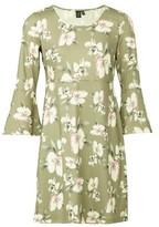Dorothy Perkins Womens Izabel London Green Flared Shift Dress, Green
