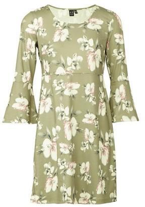 Dorothy Perkins Womens *Izabel London Green Flared Shift Dress, Green