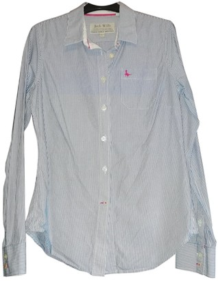 Jack Wills Blue Cotton Top for Women