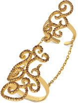 LeVian Le Vian® Chocolatier Diamond Knuckle Ring (1-1/6 ct. t.w.) in 14k Gold