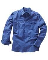 Jacamo Long Sleeve Military Shirt Reg
