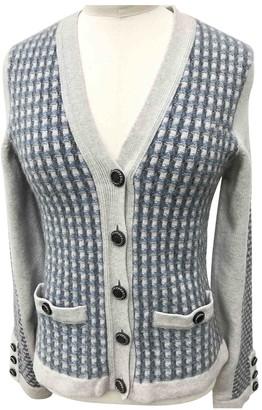 Chanel Blue Cashmere Knitwear