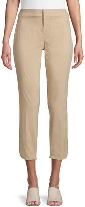 Lord & Taylor Curved-Hem Cropped Pants