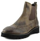 Fabrizio Chini Fabriziochini 700 Round Toe Leather Boot.