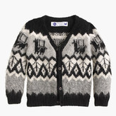 Kids' Industry of All NationsTM hand-knit alpaca cardigan sweater