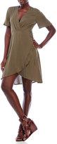 Lush Tulip Hem Wrap Dress