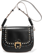 Paula Cademartori Babeth embellished leather shoulder bag