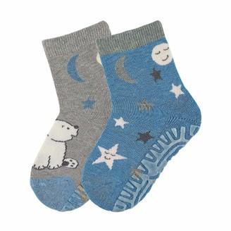 Sterntaler Baby Boys' FLI Air Dp Eisbar/Sterne Calf Socks