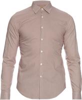 Burberry Southbrook micro-dot print cotton shirt