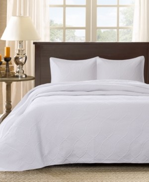 Madison Home USA Corrine 3-Pc. Quilted Queen Bedspread Set Bedding
