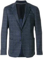 Z Zegna checkered blazer