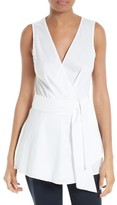 Diane von Furstenberg Women's Sleeveless Poplin Top