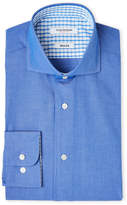 Isaac Mizrahi Blue Slim Fit Dress Shirt