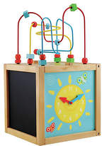 Early Learning Centre Wooden Activity Cube.