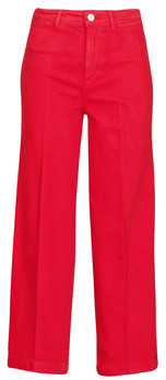 Tommy Hilfiger BELL BOTTOM HW CCLR women's Bootcut Jeans in Red