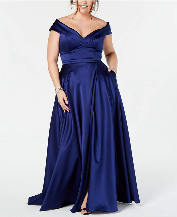 bf00007c Xscape Plus Size Evening Dresses - ShopStyle