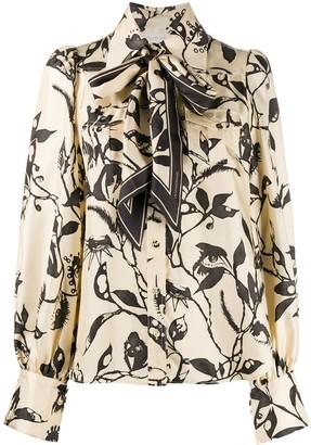 Zimmermann Ladybeetle Scarf Tie shirt