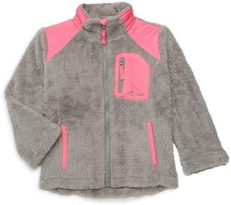 Big Chill Little Girl's & Girl's Faux Fur Full-Zip Jacket