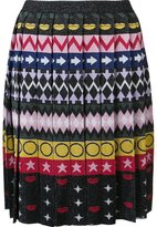 Mary Katrantzou 'Mandy' multi print pleated skirt - women - Viscose/Polyamide/Polyester - S