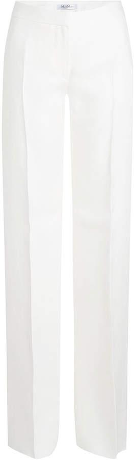 Max Mara Gerry Tailored Linen Pants