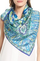 Echo Women's Paisley Square Silk Scarf