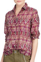 Lauren Ralph Lauren Petite Voile Button-Down Shirt
