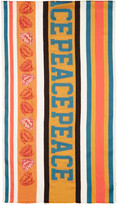 Paul Smith Multicolor Jacquard River Peace Scarf