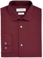 Calvin Klein Textured Woven Shirt, Big Boys (8-20)