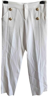 Gucci \N White Cloth Trousers