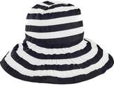 San Diego Hat Company Women's Crossback Striped Ribbon Bucket Hat RBL4792