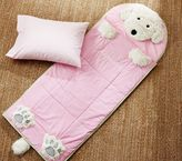Pottery Barn Kids Shaggy Dog Sleeping Bag, Pink